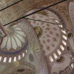 Blaue Moschee von innen
