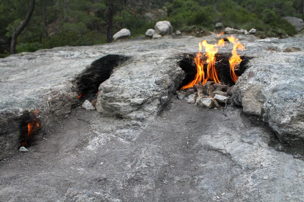 die brennenden Steine...