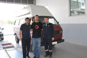 """""""Mahmoud"""" in der VW- Werkstatt"""