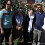 unser Platzvermieter Mahmoud, seine Frau und sein Sohn Pooya