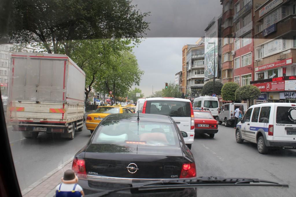 durch die Strassen von Istanbul