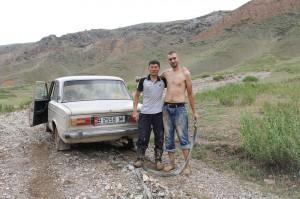 der Kirgise und sein Lada