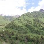 auf 3000 m in Kirgistan