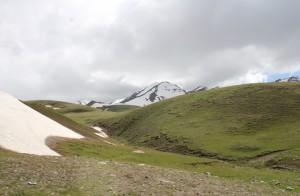 kirgisische Berge