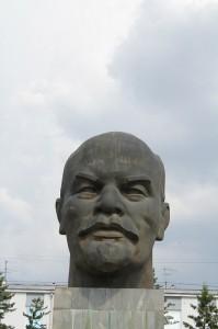 Ulan Ude- Lenin Kopf