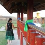 Gebetsmühlen im Kloster von Ivanogilsk