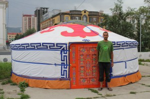 Jurte in Ulaan Baatar