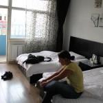 unser Hotelzimmer in Ehrenhot