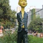 Künstlerviertel in Peking