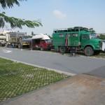 unser Parkplatz in Pingyao