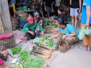 Markt in Luang Namtah