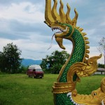 Tempel bei Muang SIng