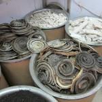 getrocknete Schlangen