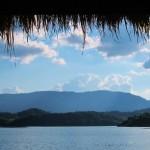 Aussicht vom Resort auf den See
