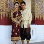 Hochzeitspaar in Luang Prabang