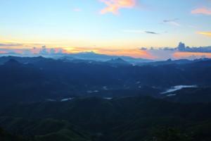Sonnenuntergang am View Point