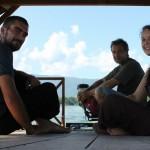 auf dem Weg zur Affeninsel