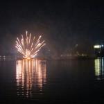 Feuerwerk in Khon Khaen