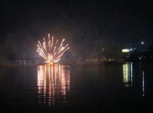 Feuerwerk in Khon Kaen