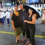Julien, Benni und Verena
