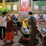 essen kochen für die Mönche