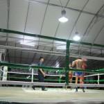 Benni und Martin waren beim Thai Boxen