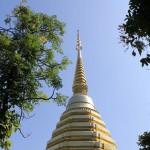 Chedi in Chiang Rai