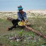 Ananasverkäuferin