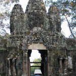 Eingangstor Angkor Thom
