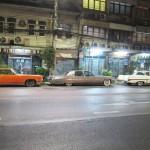 Bangkok- Straßenkreuzer nahe der Kao San Road