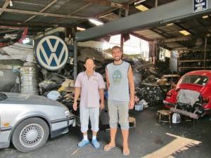 Benni und der Mechaniker