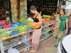 Gemüseeinkauf in Little India