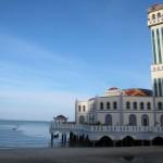Moschee auf Stelzen auf Penang