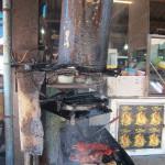 Grill auf dem Markt