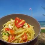 selfmade Papaya Salat