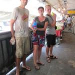 Songkran. Benni, Ellen, Jonas